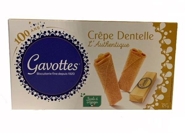 GAVOTTES CREPE DENTELLE LAUTHENTIQUE