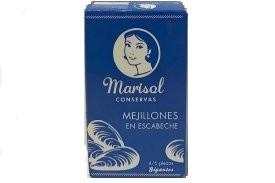 MARISOL MEJILLONES EN ESCABECHE 4/6 PIEZAS
