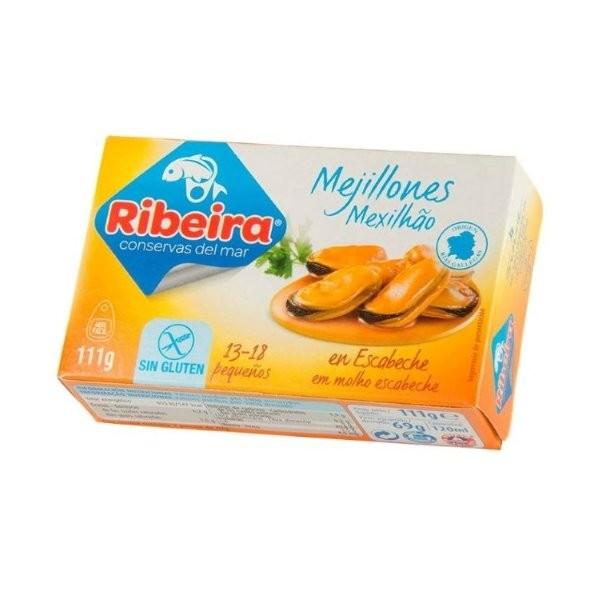 MEJILLONES 6/8 UNIDADES RIBEIRA
