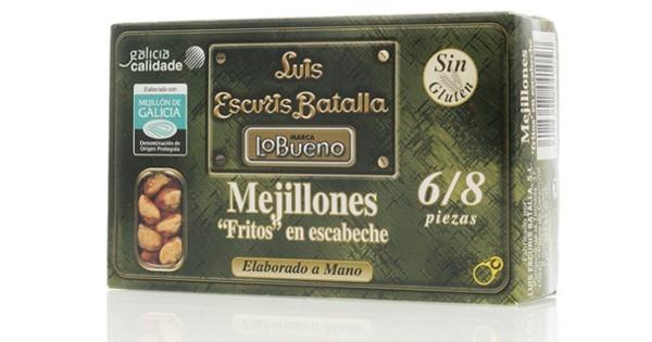 LUIS ESCURIS BATALLA LO BUENO MEJILLONES 6/8 PIEZAS 120G