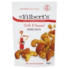 MR FILBERTS CHILLI & FENNEL MIXED NUTS - MR FILBERTS CHILLI & FENNEL MIXED NUTS