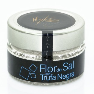 MYKES FLOR DE SAL CON TRUFA NEGRA