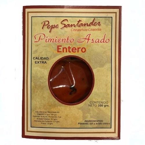 PEPE SANTANDER PIMIENTO ASADO ENTERO 350G