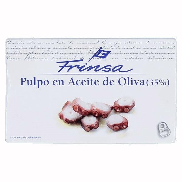 PULPO EN ACEITE DE OLIVA FRINSA