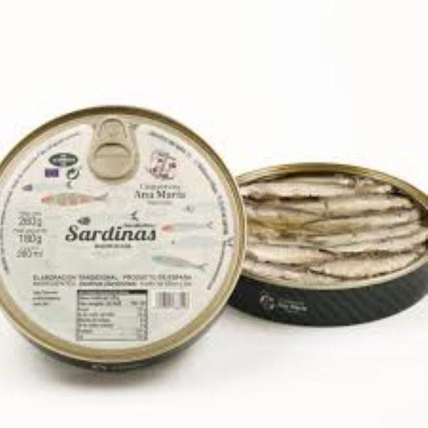 ANA MARIA SARDINAS EN ACEITE DE OLIVA 260G
