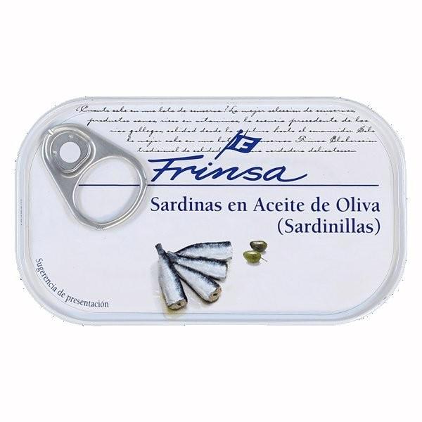 SARDINAS EN ACEITE DE OLIVA FRINSA - SARDINAS EN ACEITE DE OLIVA FRINSA