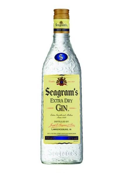 GINEBRA SEAGRAMS GIN 70 CL