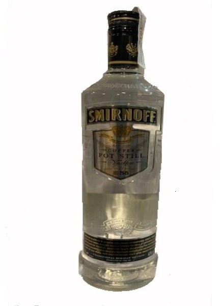 VODKA SMIRNOFF BLACK COPPER POT STILL 1 LITRO - VODKA SMIRNOFF BLACK COPPER POT STILL 1 LITRO